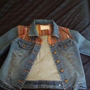 Life in progress jean jacket